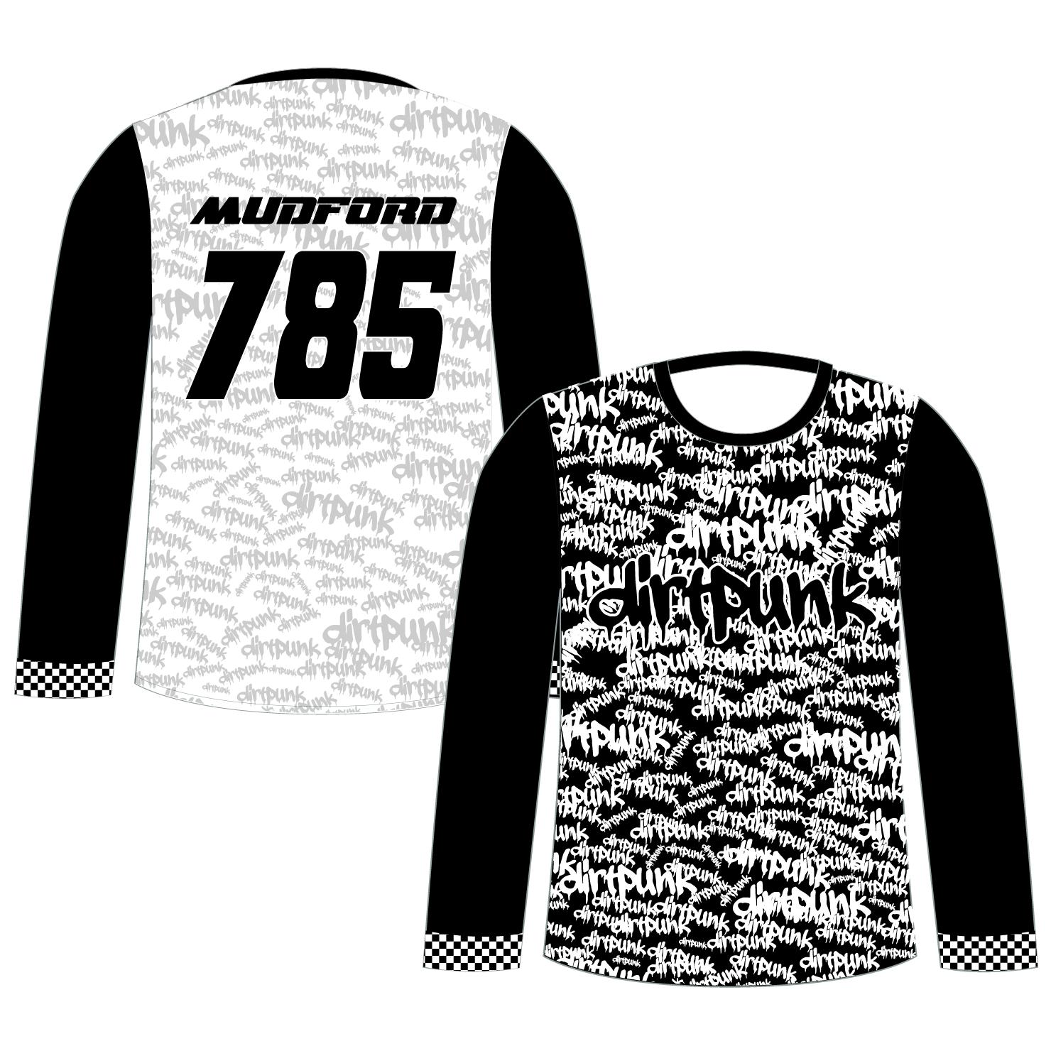 Long Sleeve BMX/MTB Jersey