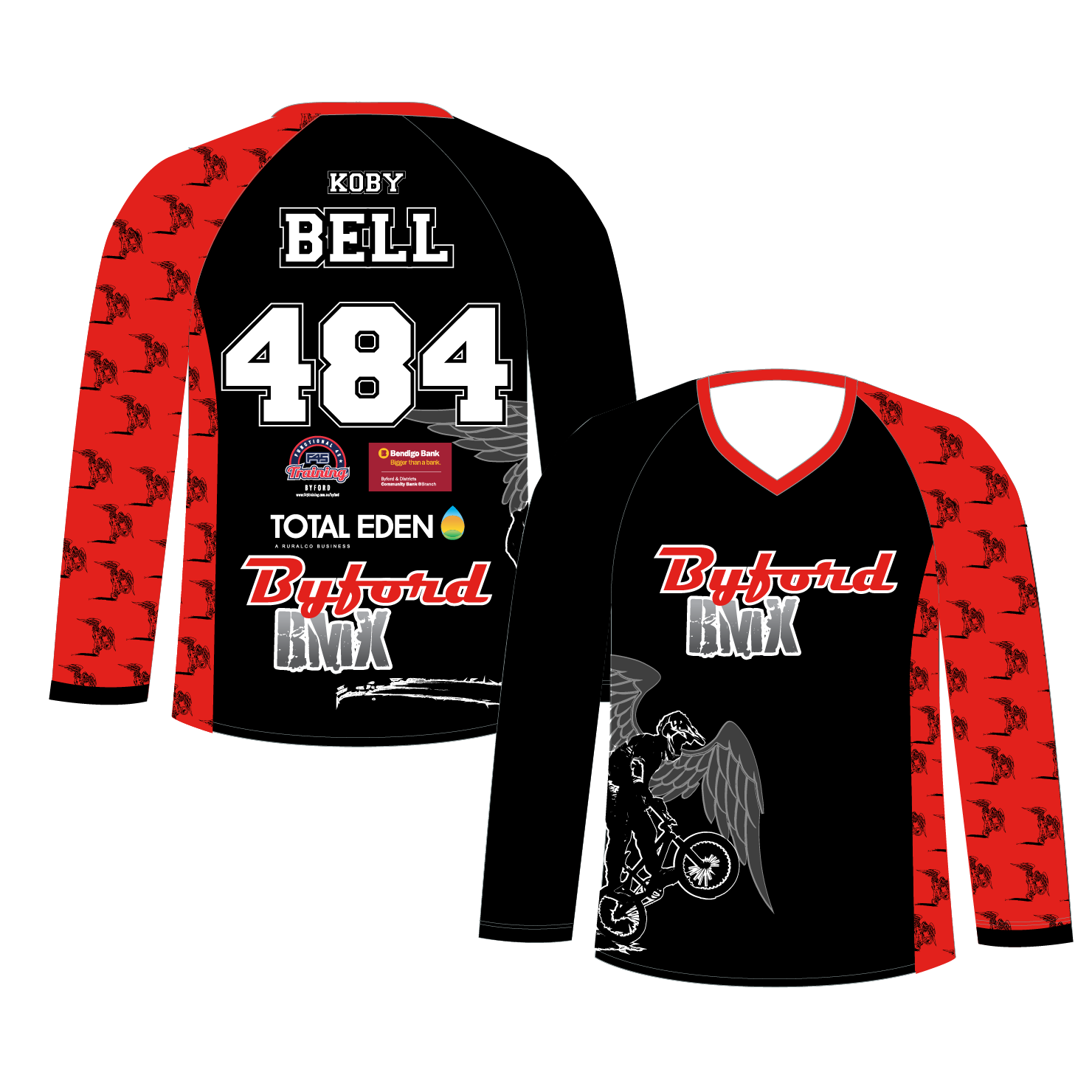 Long Sleeve BMX/MTB Jersey