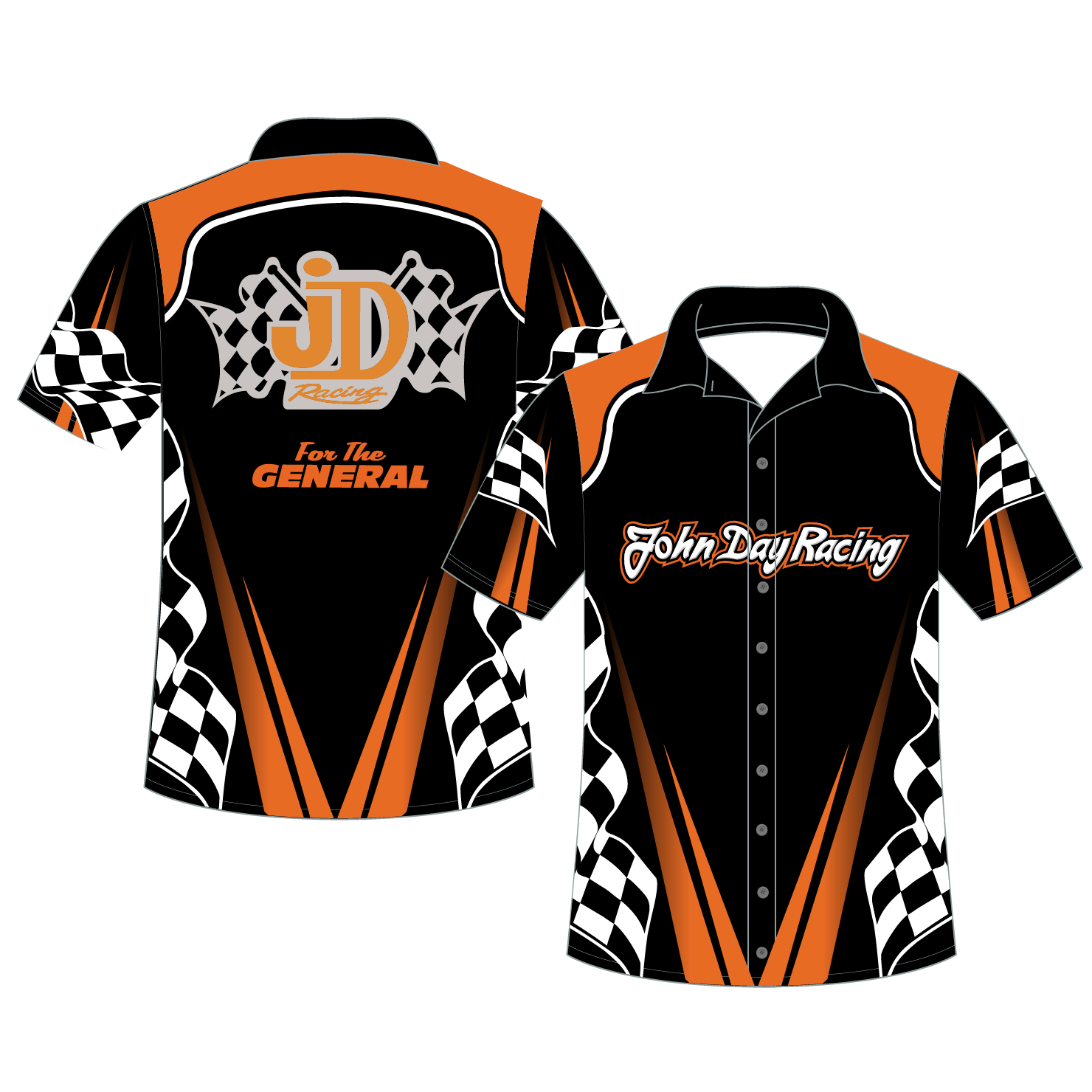 Pit Crew Button Up Shirt