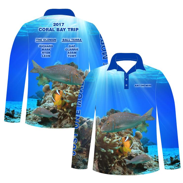 2. L/S Polo Shirt